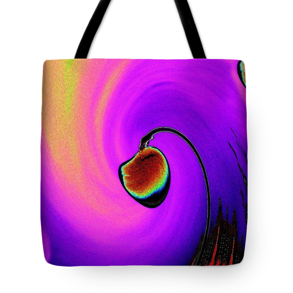 Lamp Tote Bag featuring the photograph Lamp by Tim Allen