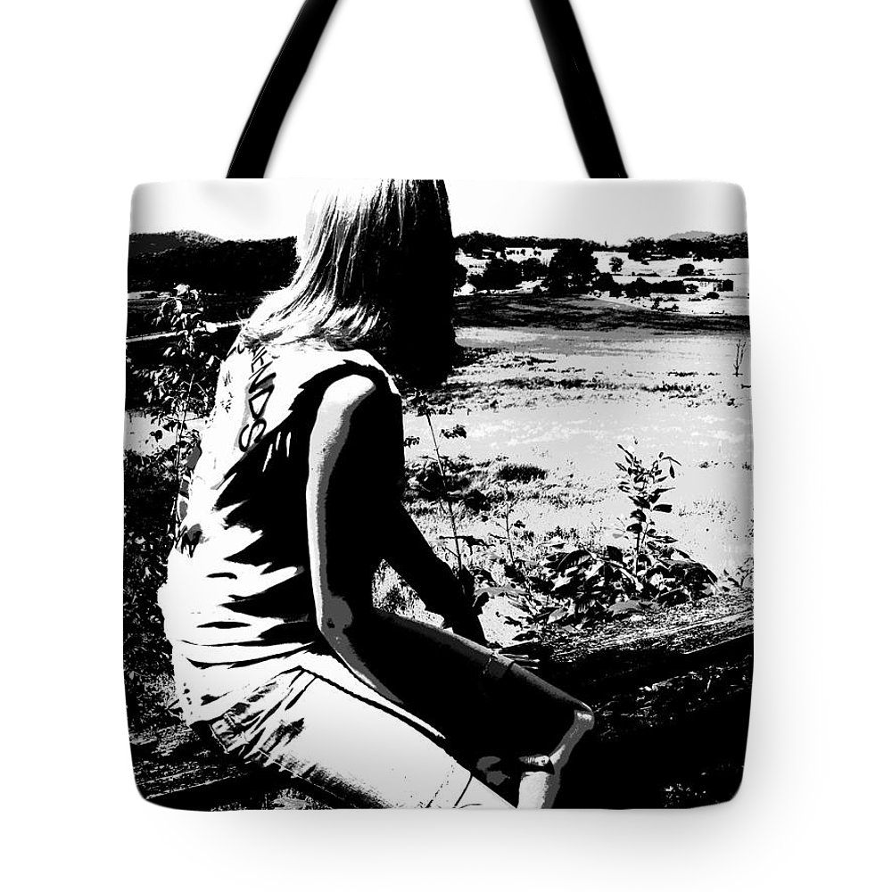 Land Down Under Tote Bag featuring the photograph Land Down Under by Ed Smith