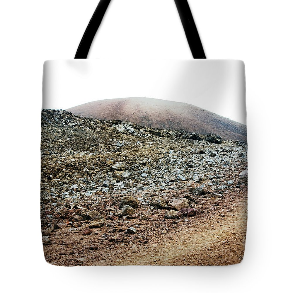 Abstract Tote Bag featuring the photograph Landing by Carl Ellis