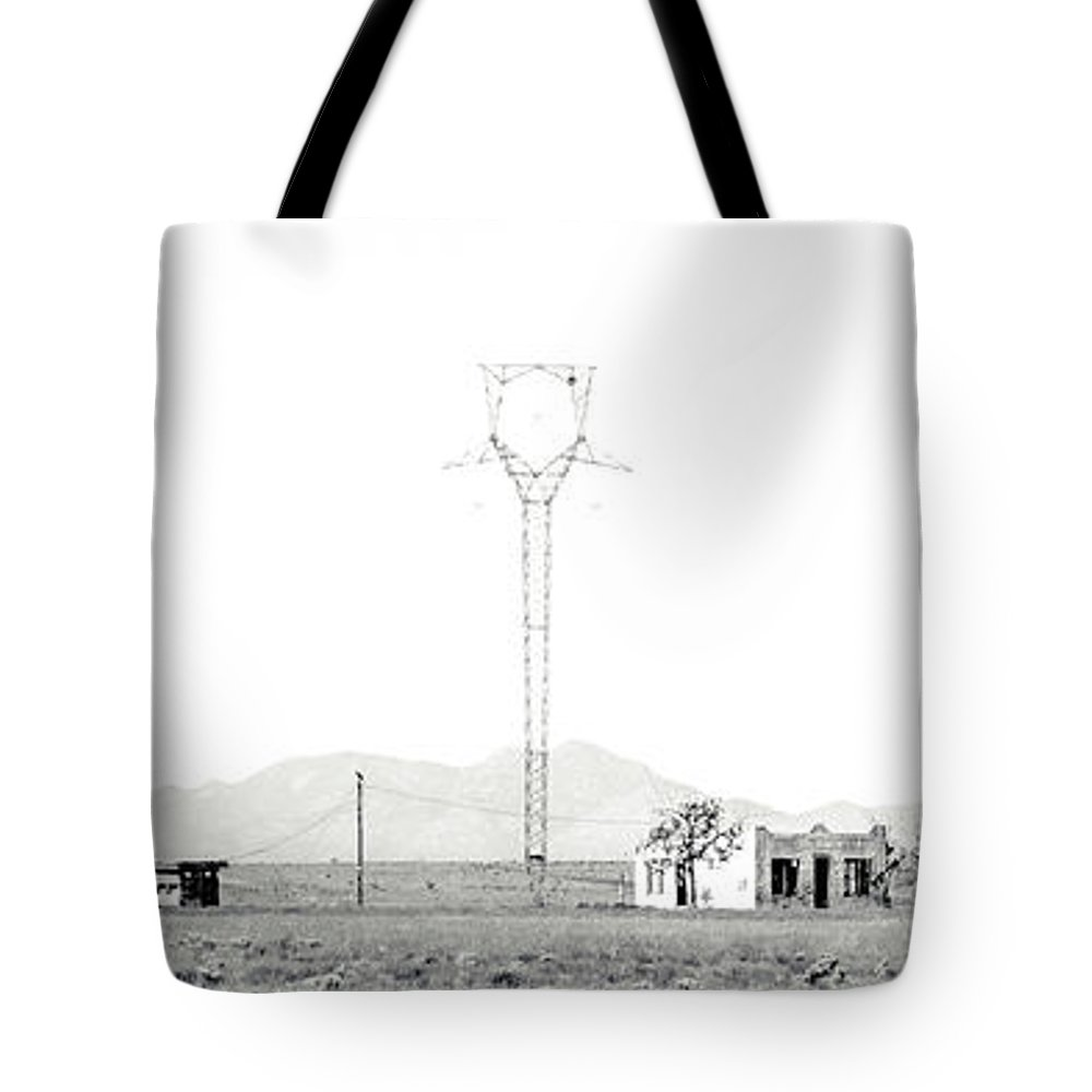 Calisteo Tote Bag featuring the photograph Landscape Galisteo Nm H10k by Otri Park