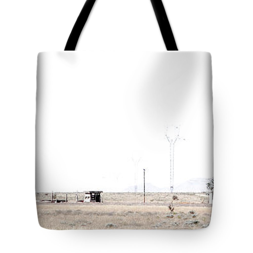 Calisteo Tote Bag featuring the photograph Landscape Galisteo Nm H10p by Otri Park