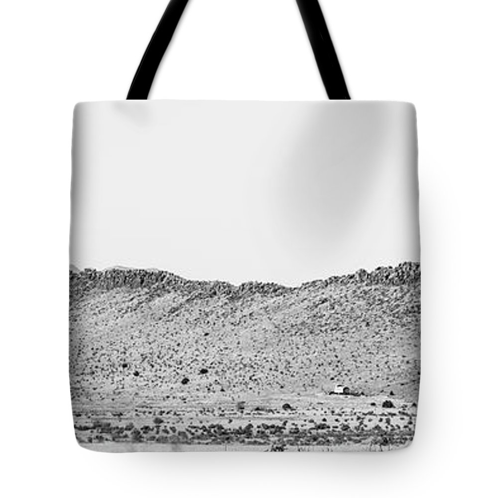 Calisteo Tote Bag featuring the photograph Landscape Galisteo Nm I10i by Otri Park