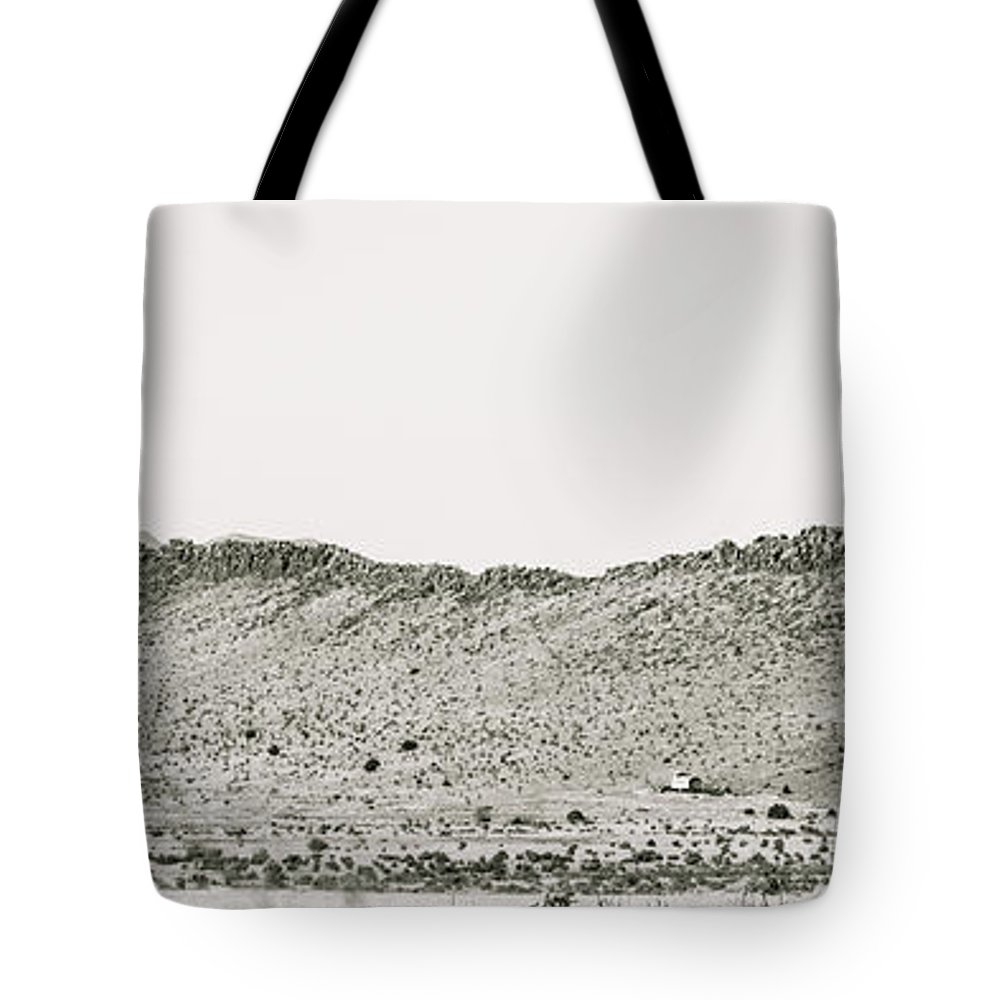 Calisteo Tote Bag featuring the photograph Landscape Galisteo Nm I10k by Otri Park