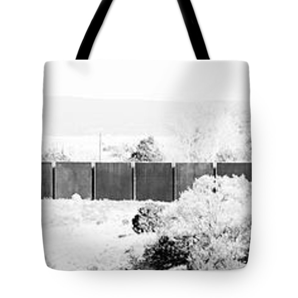Calisteo Tote Bag featuring the photograph Landscape Galisteo Nm J10g by Otri Park