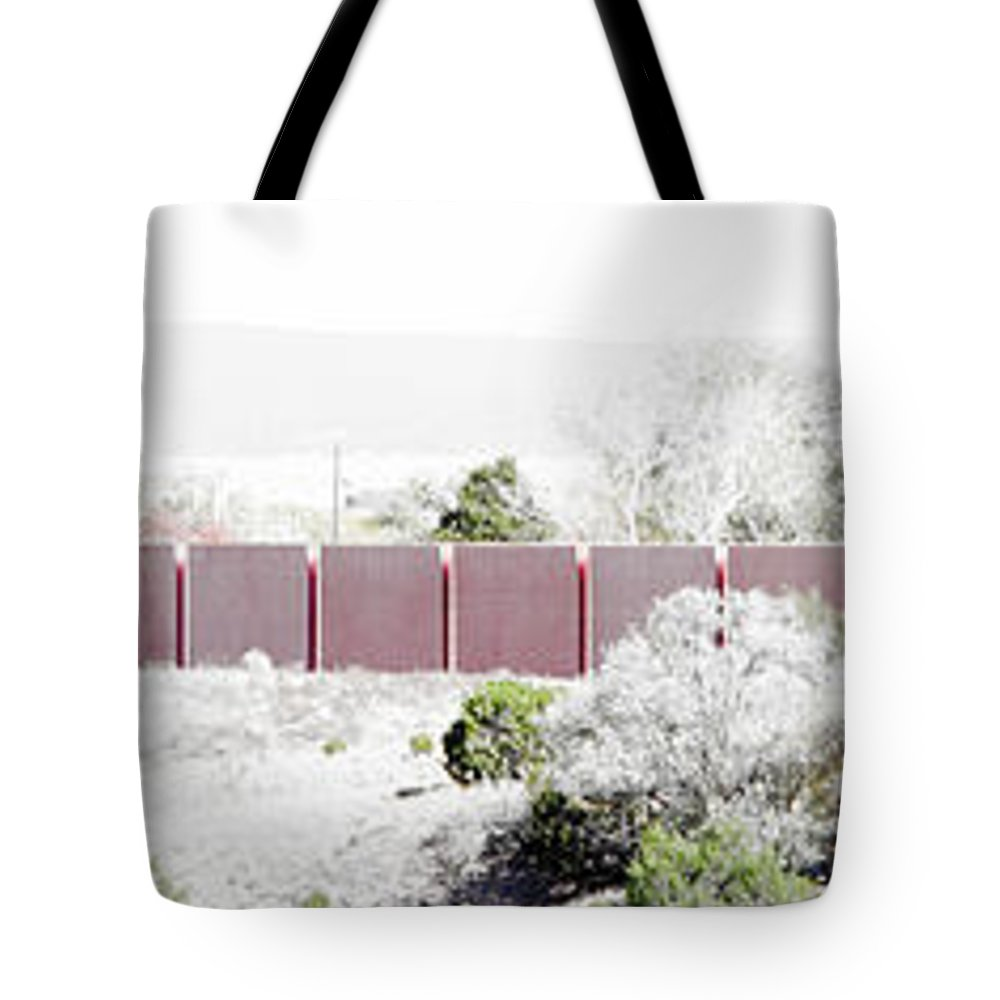 Calisteo Tote Bag featuring the photograph Landscape Galisteo Nm J10k by Otri Park