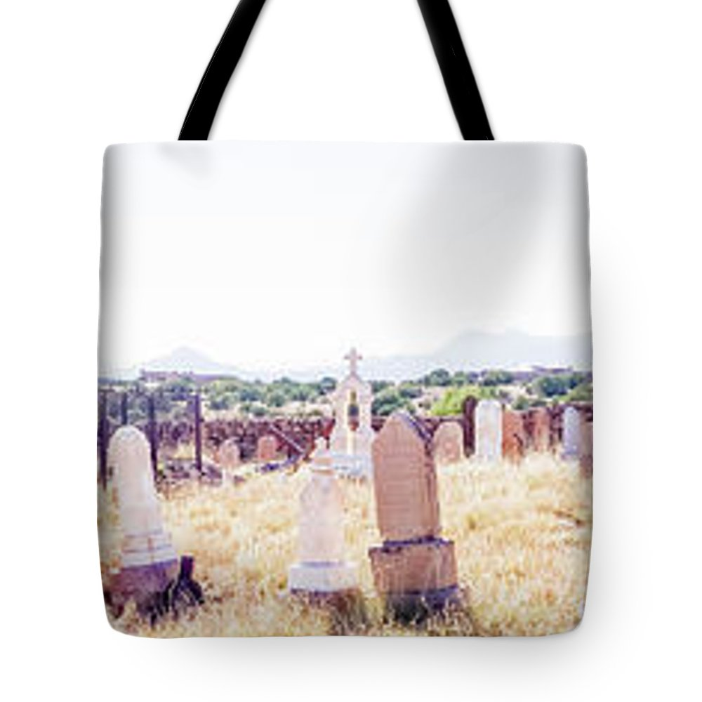 Calisteo Tote Bag featuring the photograph Landscape Galisteo Nm K10p by Otri Park