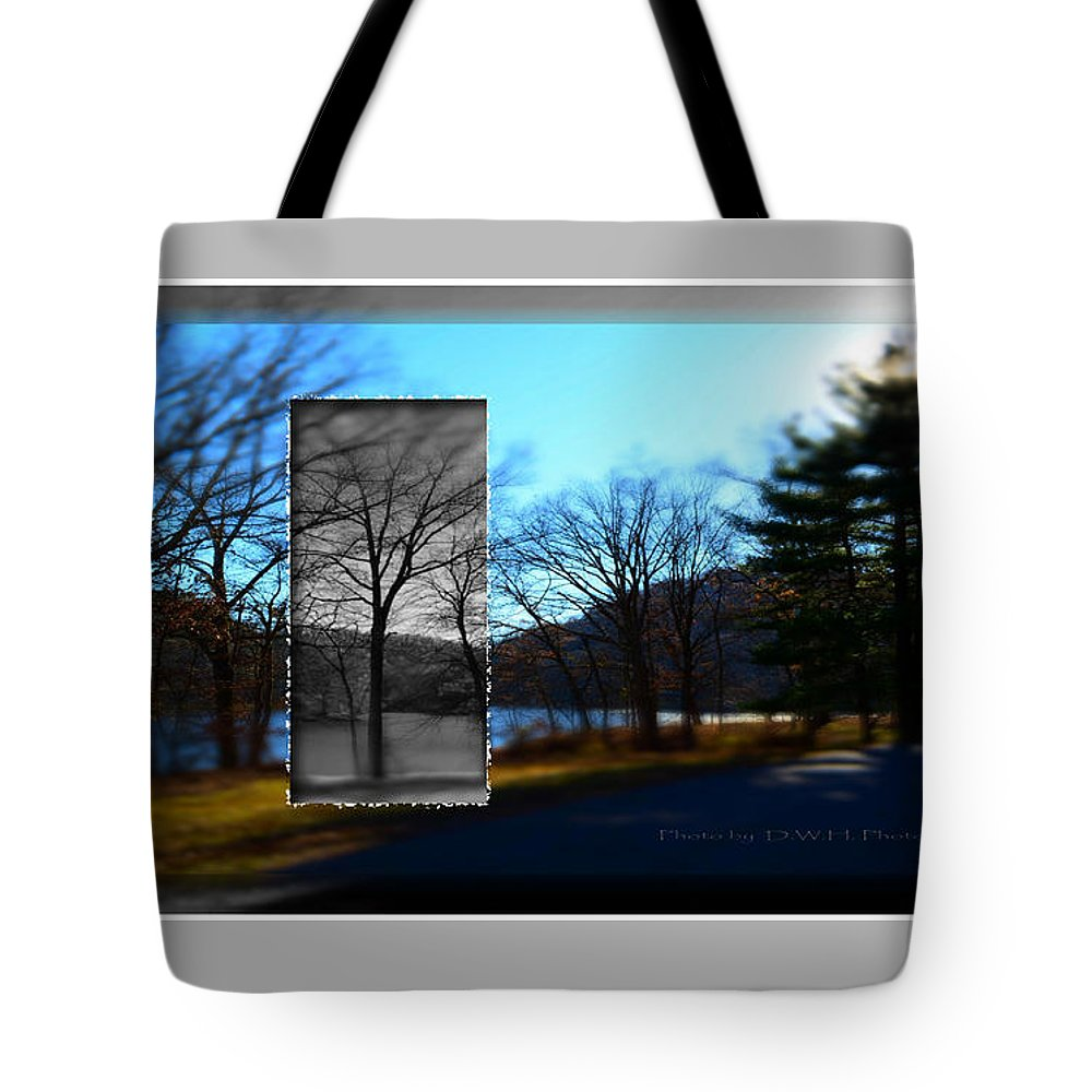 Landscape Tote Bag featuring the photograph Landscape Ia A Box by David Healey