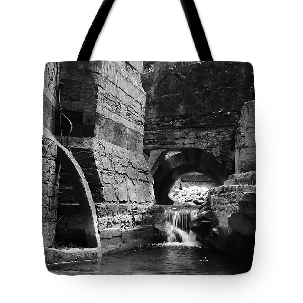 Skip Hunt Tote Bag featuring the photograph Las Pozas 1 by Skip Hunt