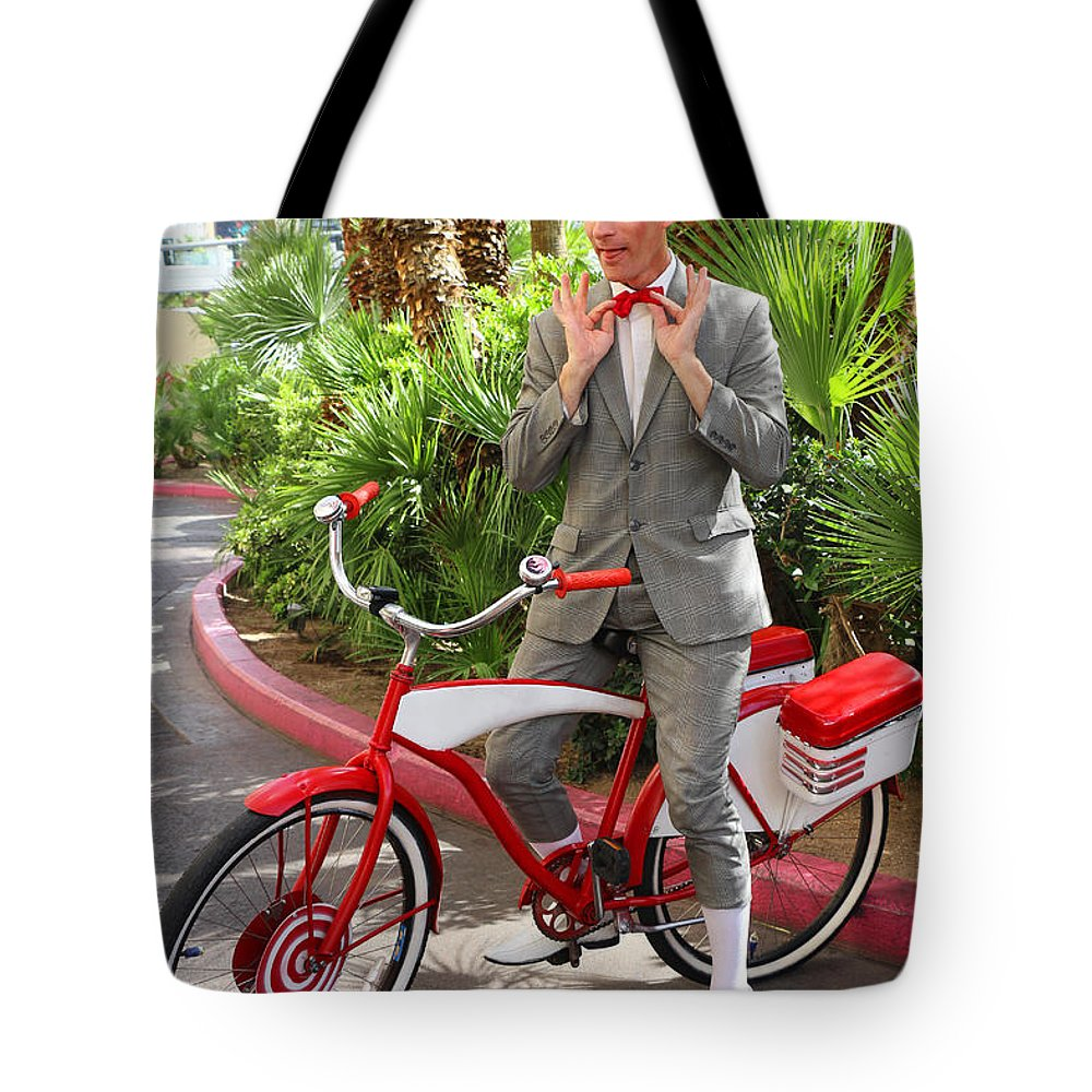 Pee Wee Tote Bag featuring the photograph Las Vegas Pee Wee by Iryna Goodall