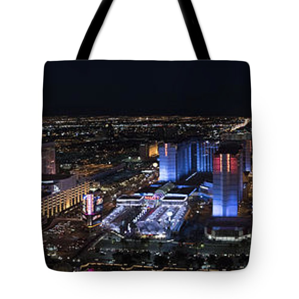 Las Vegas Tote Bag featuring the photograph Las Vegas Strip 1 by Debbie D Anthony