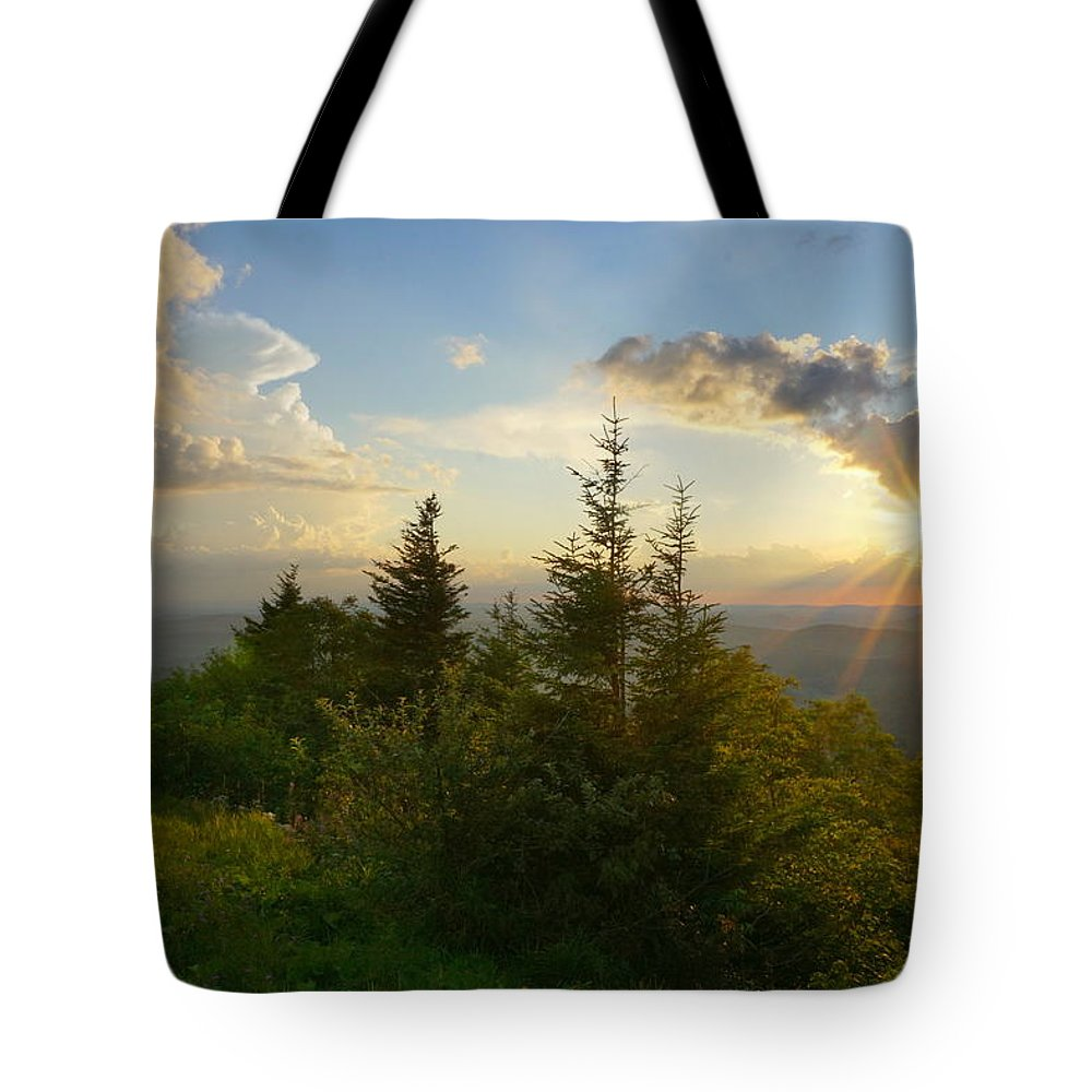 Light Tote Bag featuring the photograph Last Light - Endurance by Amanda Jones