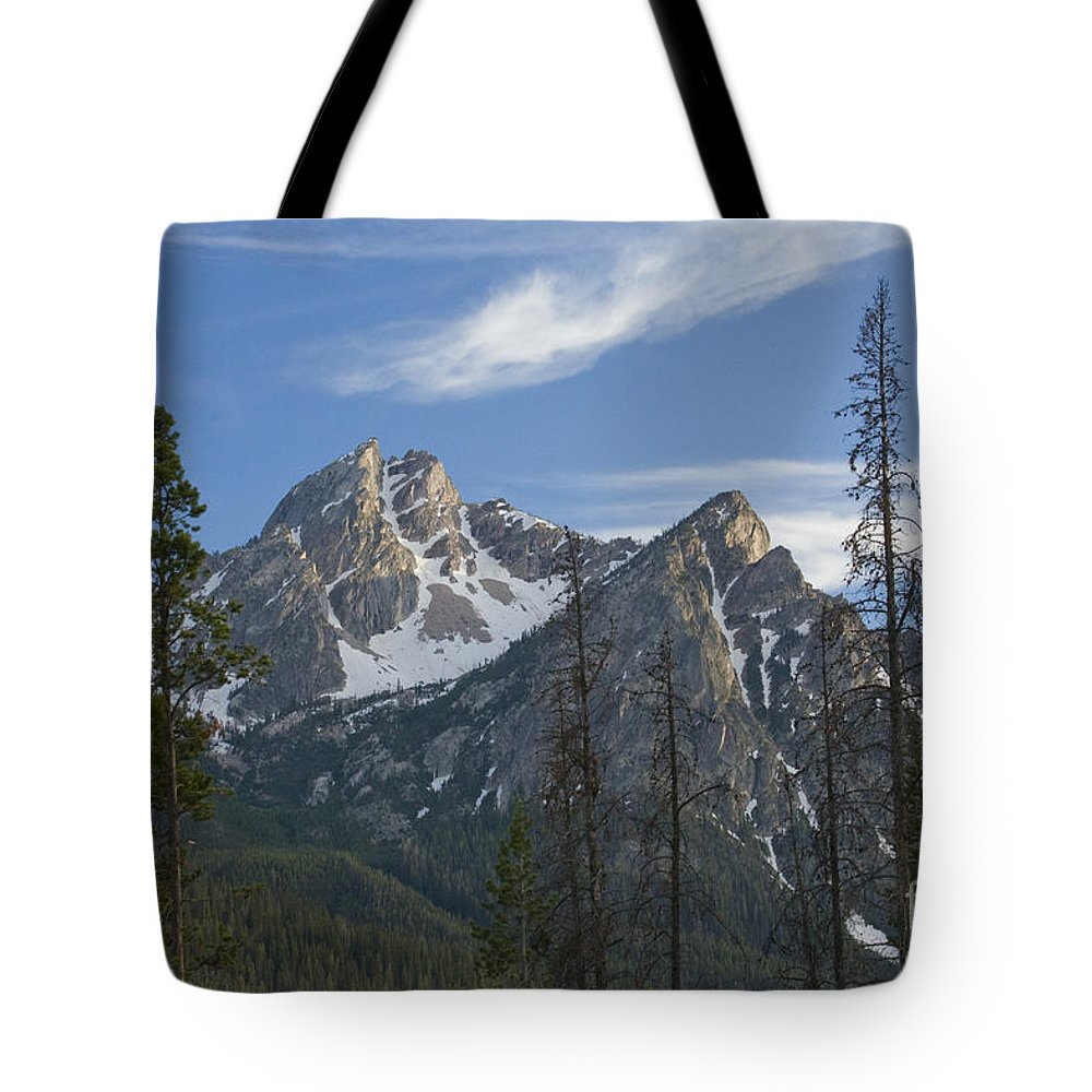 Majestic Tote Bag featuring the photograph Last Light On Mcgowan by Idaho Scenic Images Linda Lantzy