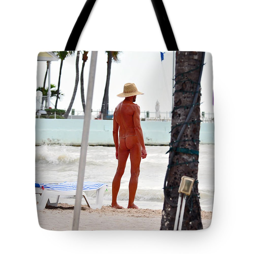 Key West Florida Tote Bag featuring the photograph Last Of The Oldies by Davids Digits