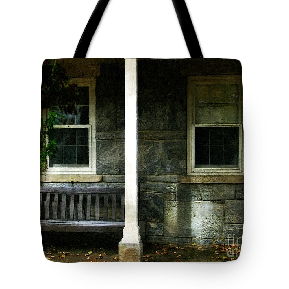 Autumn Tote Bag featuring the painting Late Afternoon In Autumn by RC DeWinter