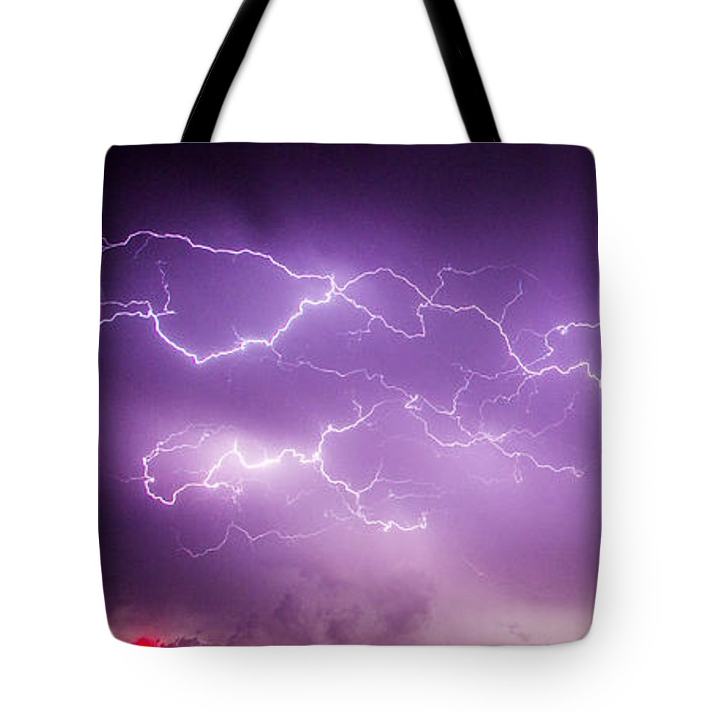 Nebraskasc Tote Bag featuring the photograph Late July Storm Chasing 082 by NebraskaSC