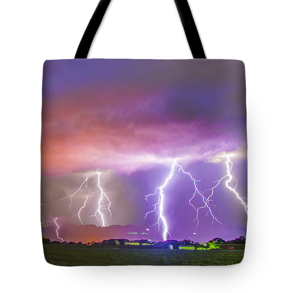 Nebraskasc Tote Bag featuring the photograph Late July Storm Chasing 087 by NebraskaSC
