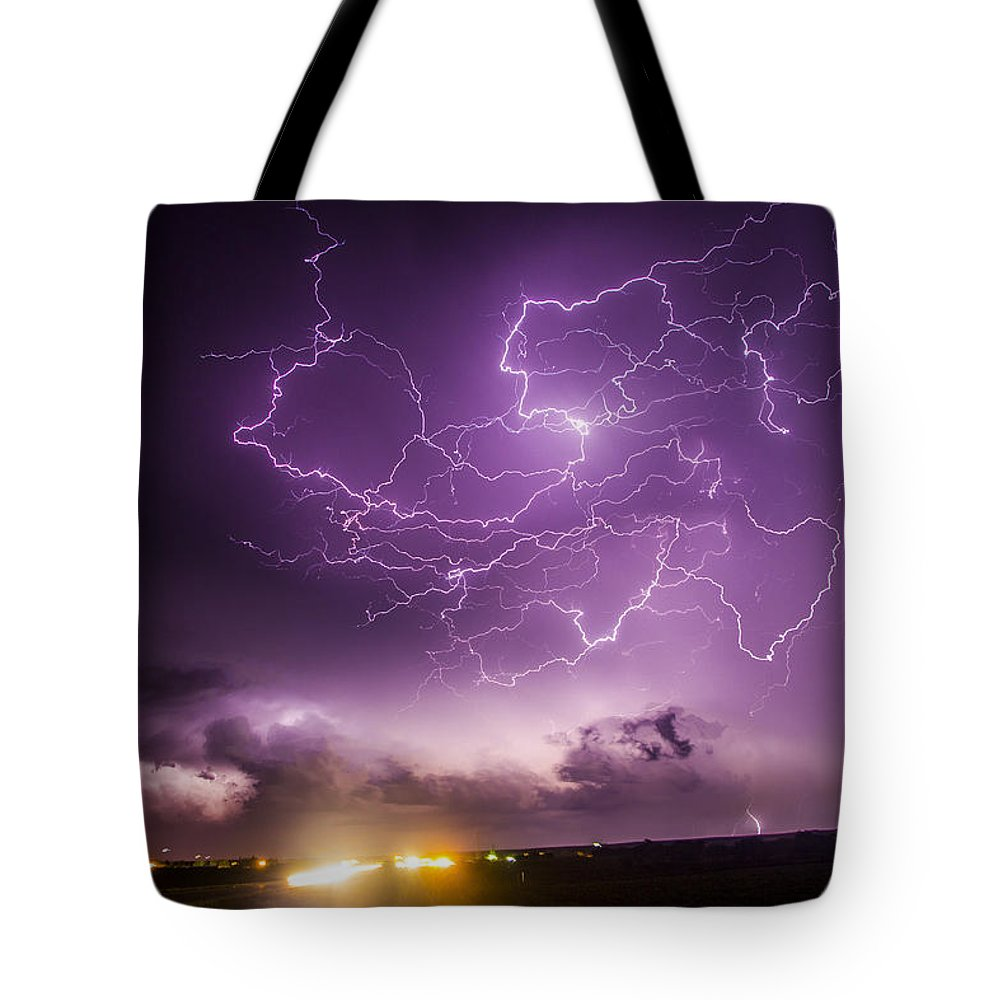 Nebraskasc Tote Bag featuring the photograph Late July Storm Chasing 088 by NebraskaSC