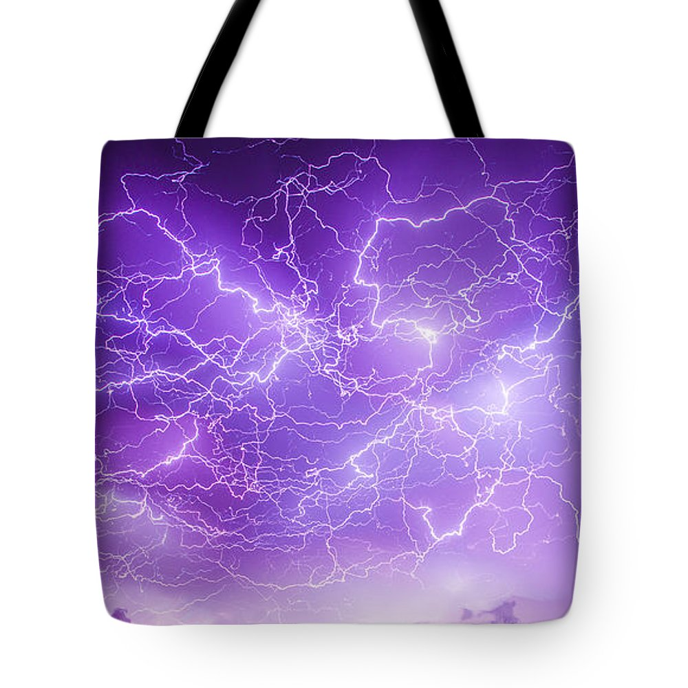 Nebraskasc Tote Bag featuring the photograph Late July Storm Chasing 089 by NebraskaSC