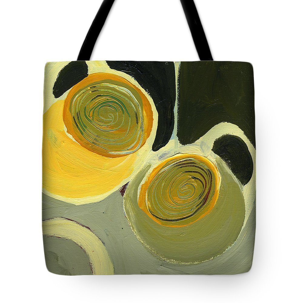 Coffee Tote Bag featuring the painting Late Night Friends by Jennifer Lommers