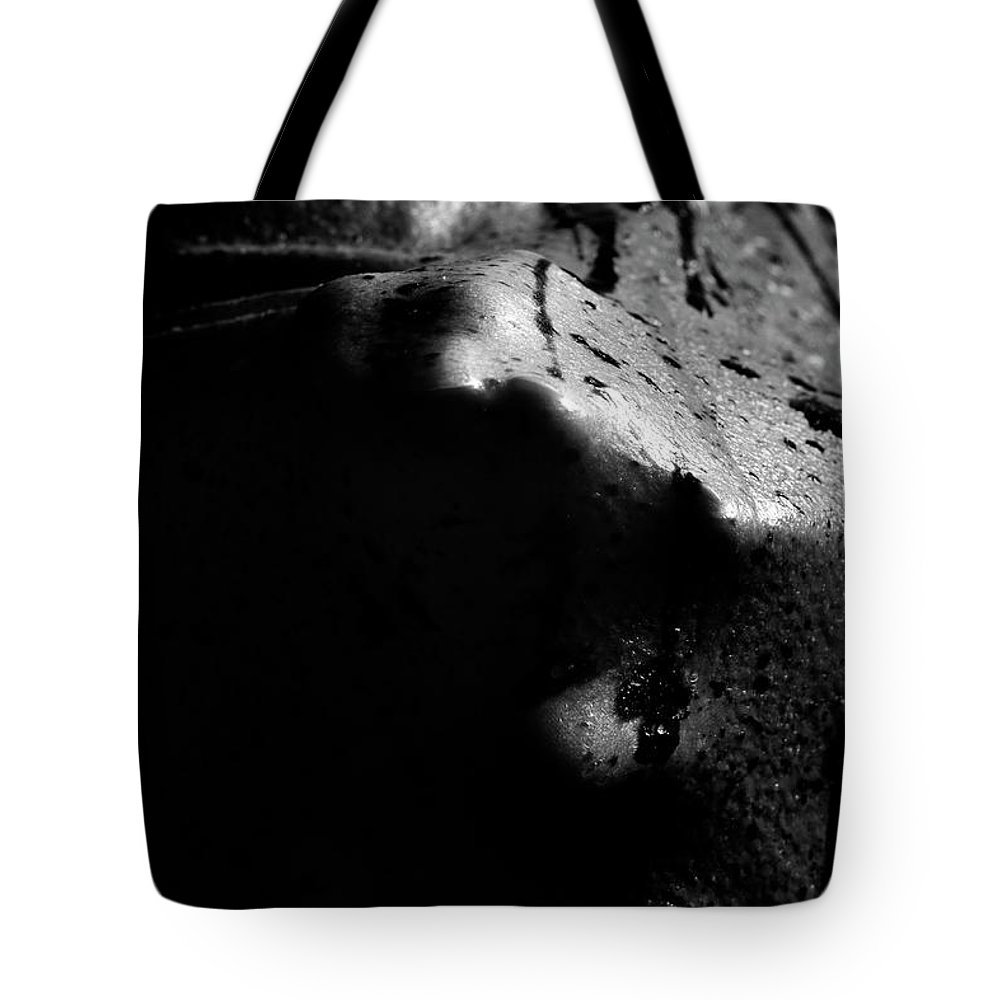 Nude Tote Bag featuring the photograph Latex Alien by Pavel Jelinek