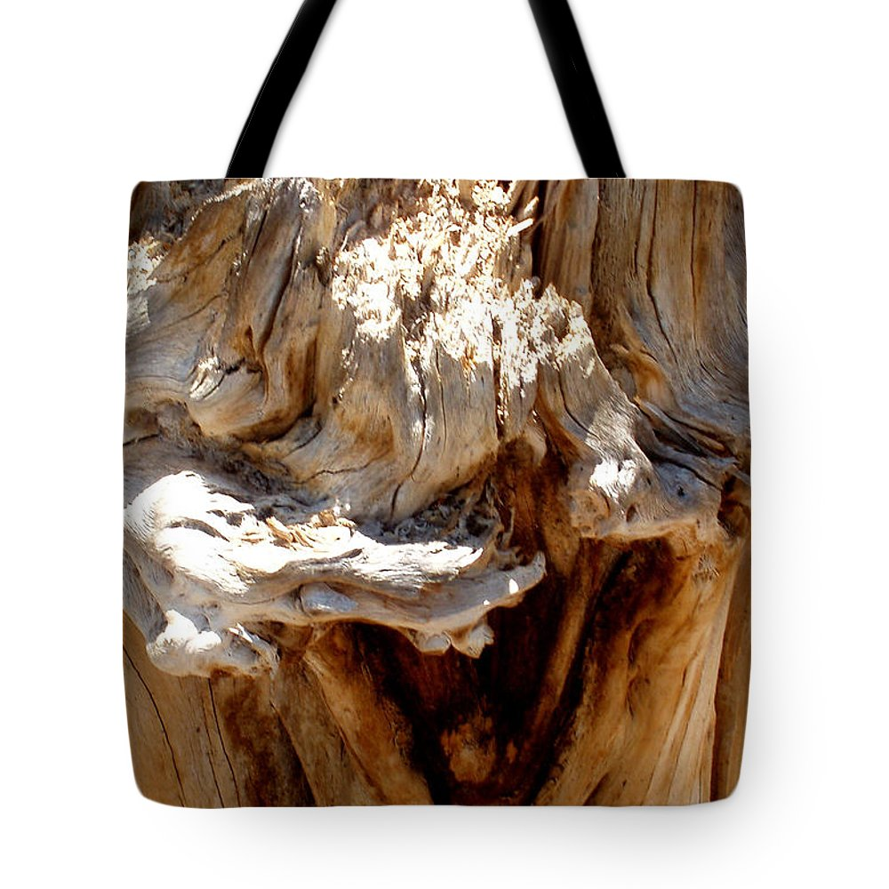 Tree Tote Bag featuring the photograph Laughing Tree by Wayne Potrafka