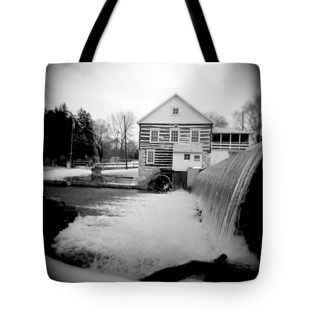 Photograph Tote Bag featuring the photograph Laughlin Mill by Jean Macaluso