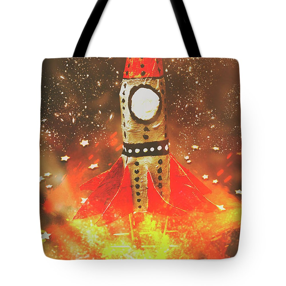 Launch Tote Bag featuring the photograph Launch Of Early Learning by Jorgo Photography - Wall Art Gallery