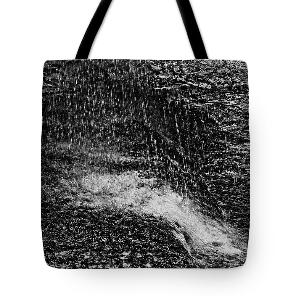 Falls Tote Bag featuring the photograph Lava Falls by Michael Bessler