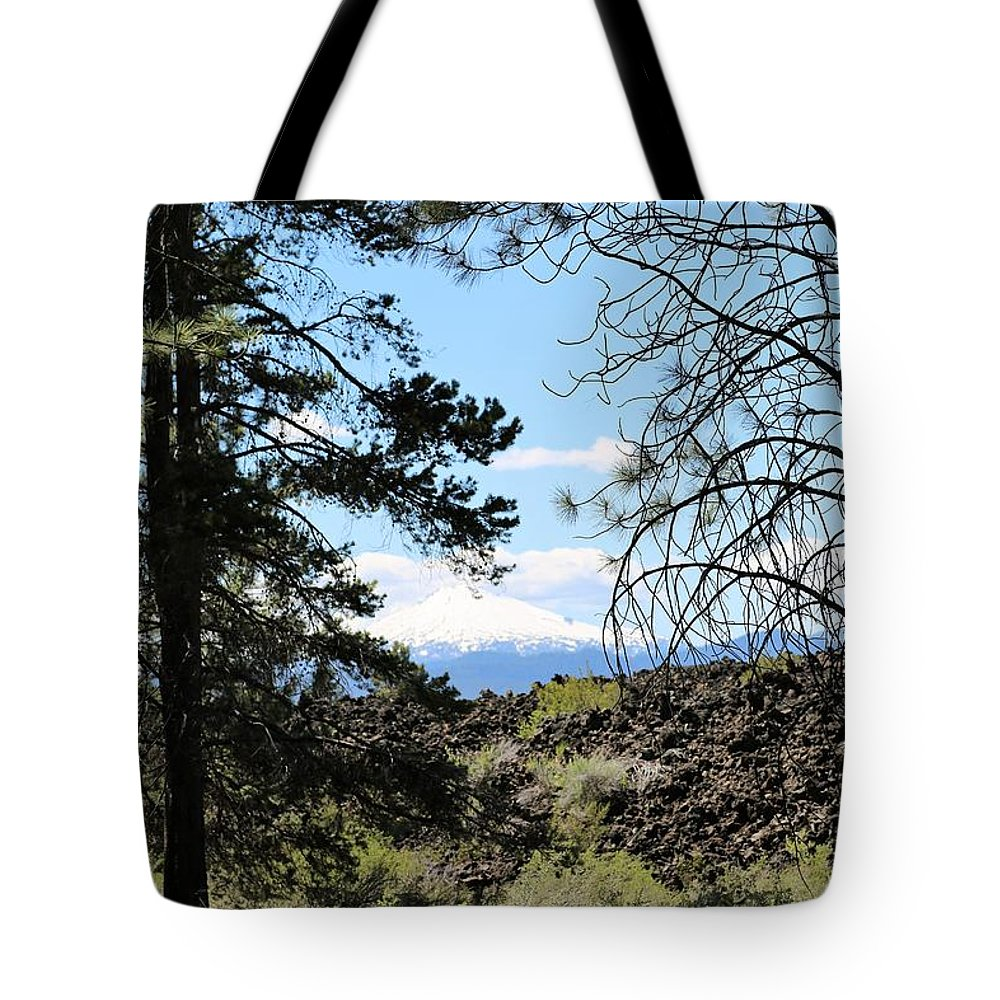 Lava Tote Bag featuring the photograph Lava Mountain by Sandy Henderson