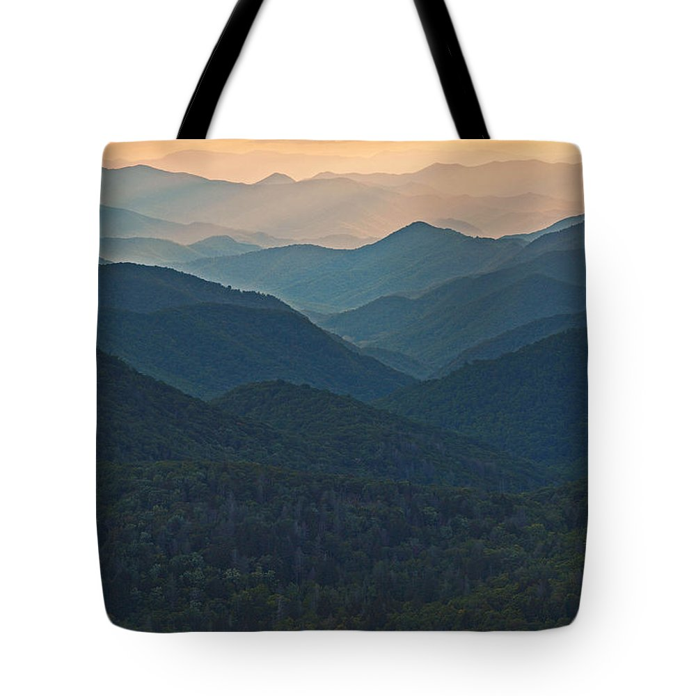 Landscape Tote Bag featuring the photograph Layers 2 by Itai Minovitz