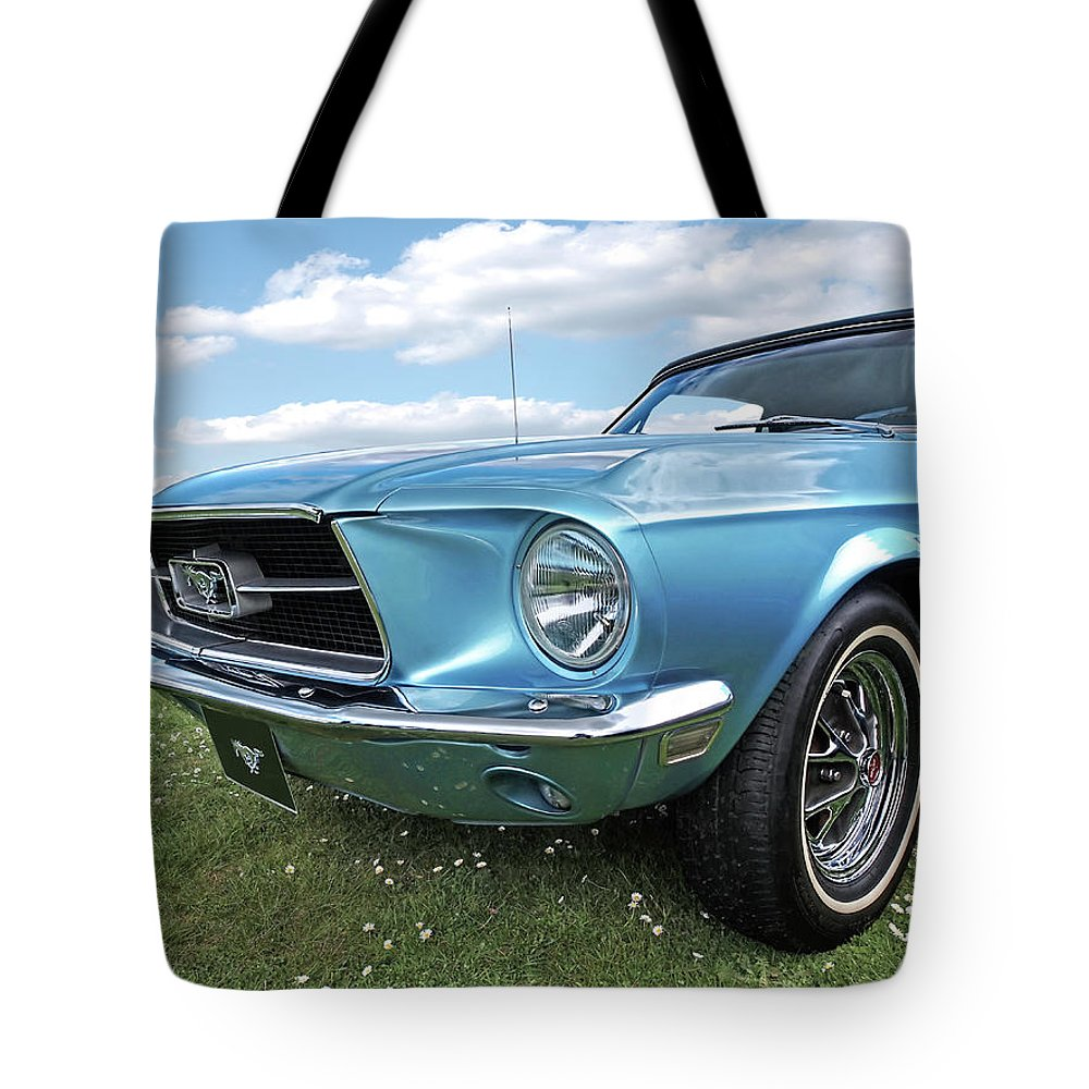 Ford Mustang Tote Bag featuring the photograph Lazy Days by Gill Billington