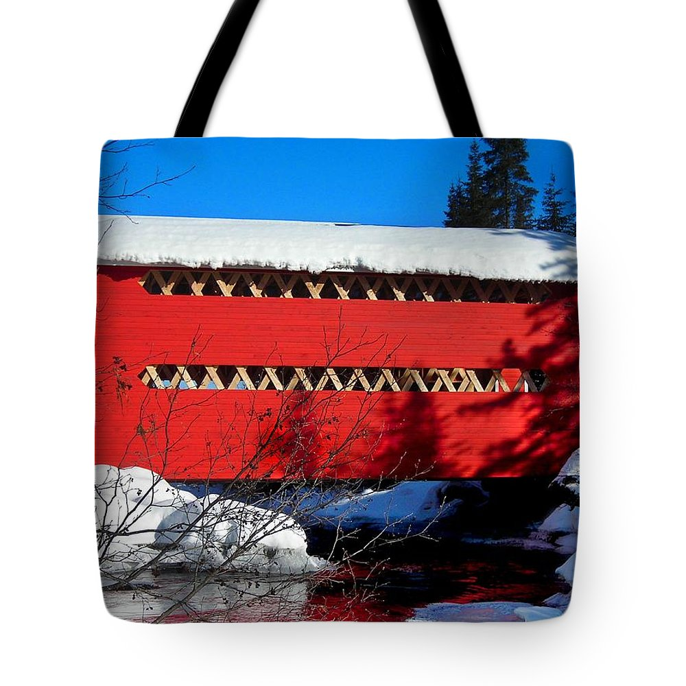 North America Tote Bag featuring the photograph Le Boise Du Pont-rouge ... by Juergen Weiss