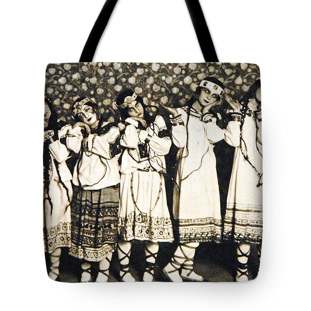 1913 Tote Bag featuring the photograph Le Sacre Du Printemps by Granger