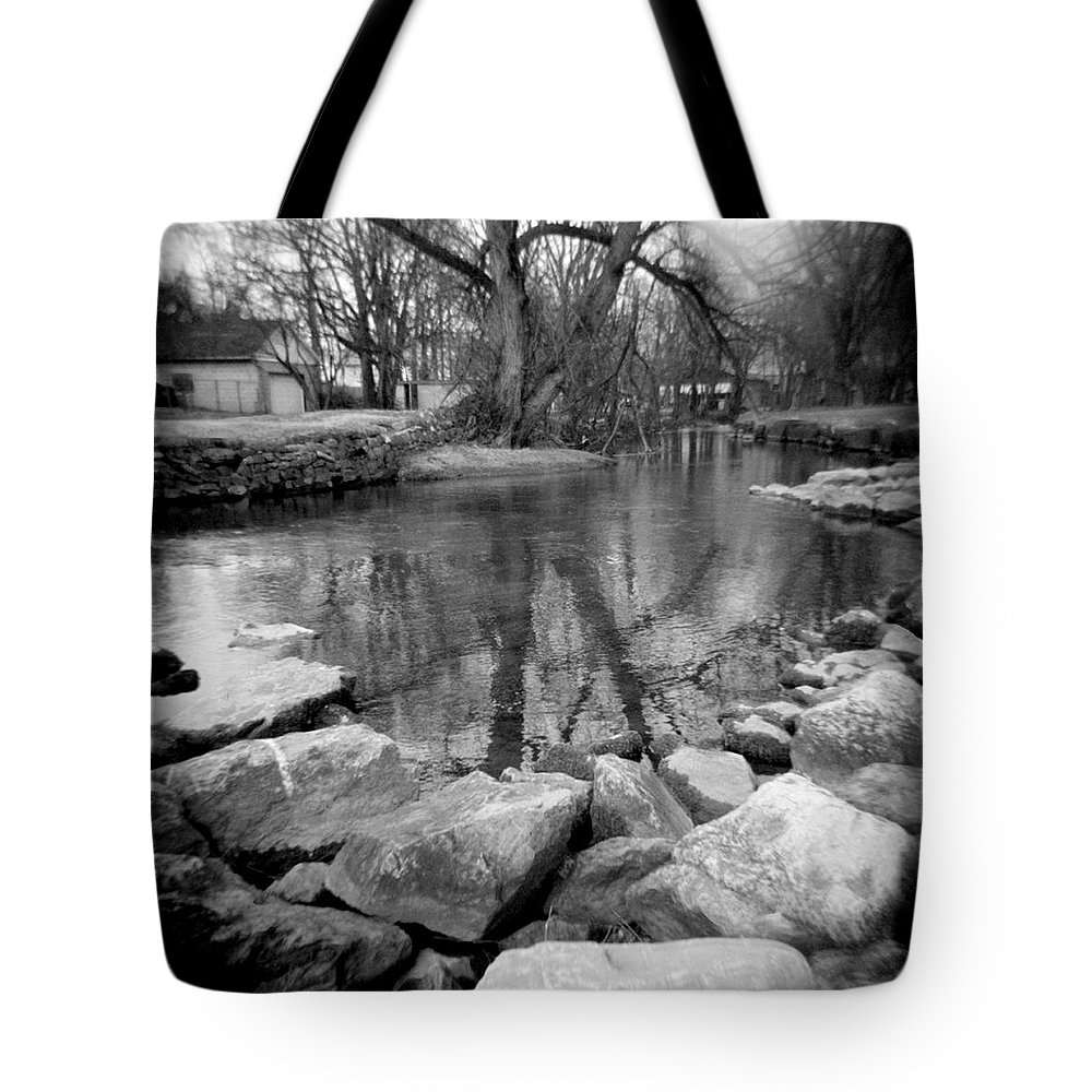 Photograph Tote Bag featuring the photograph Le Tort Reflection by Jean Macaluso