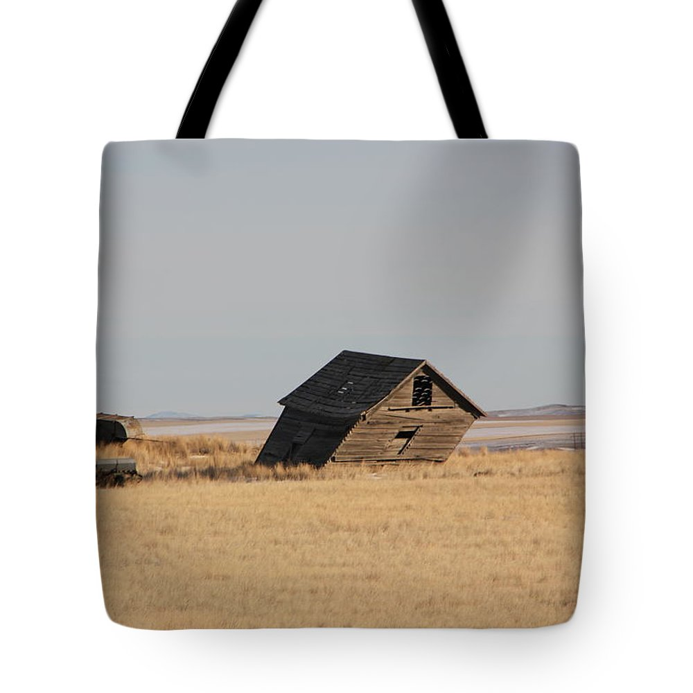 Tote Bag featuring the photograph Leaning Memories by Mitchell Blasdell