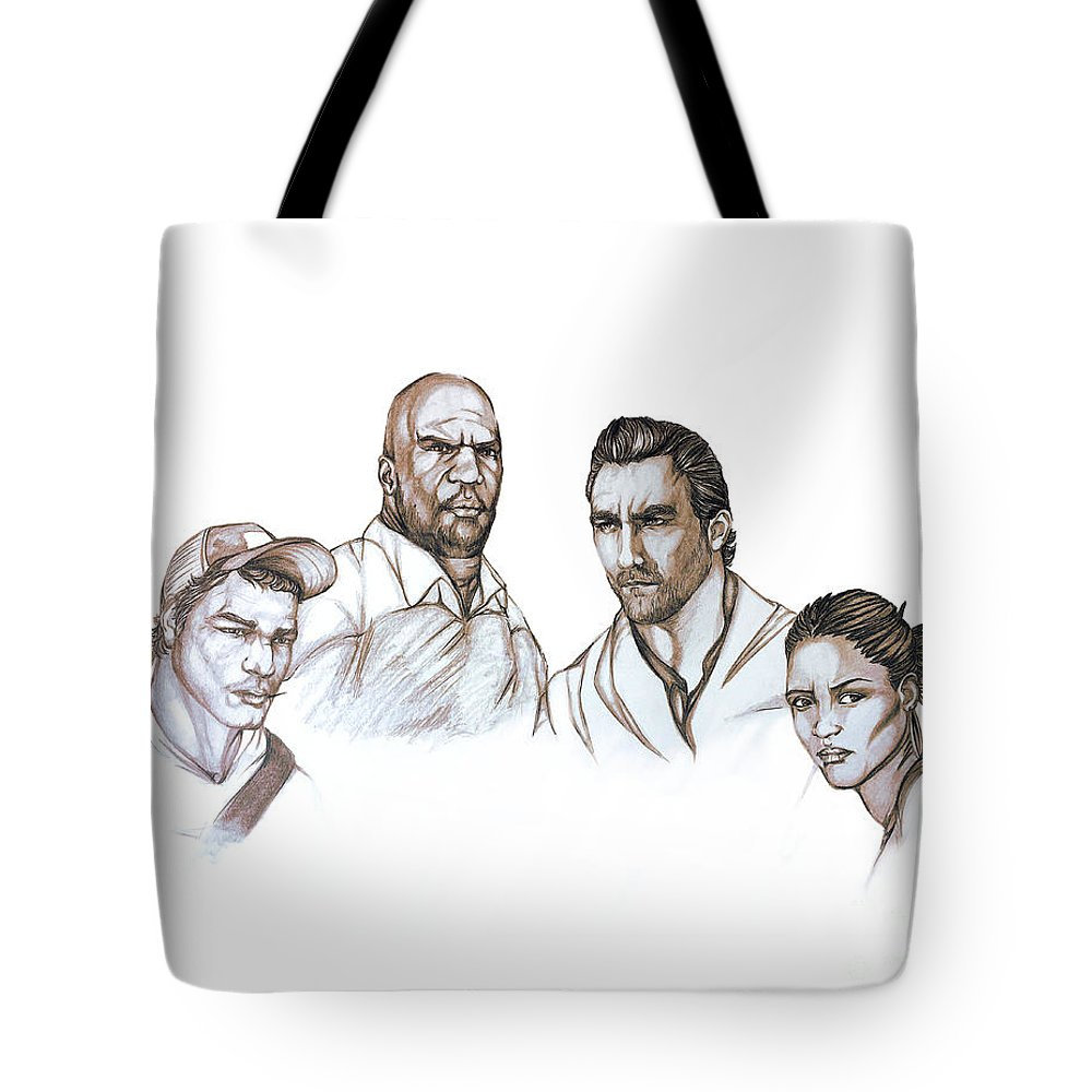 Left 4 Dead 2, Survivors, Coach, Nick, Ellis, Rochelle Tote Bag