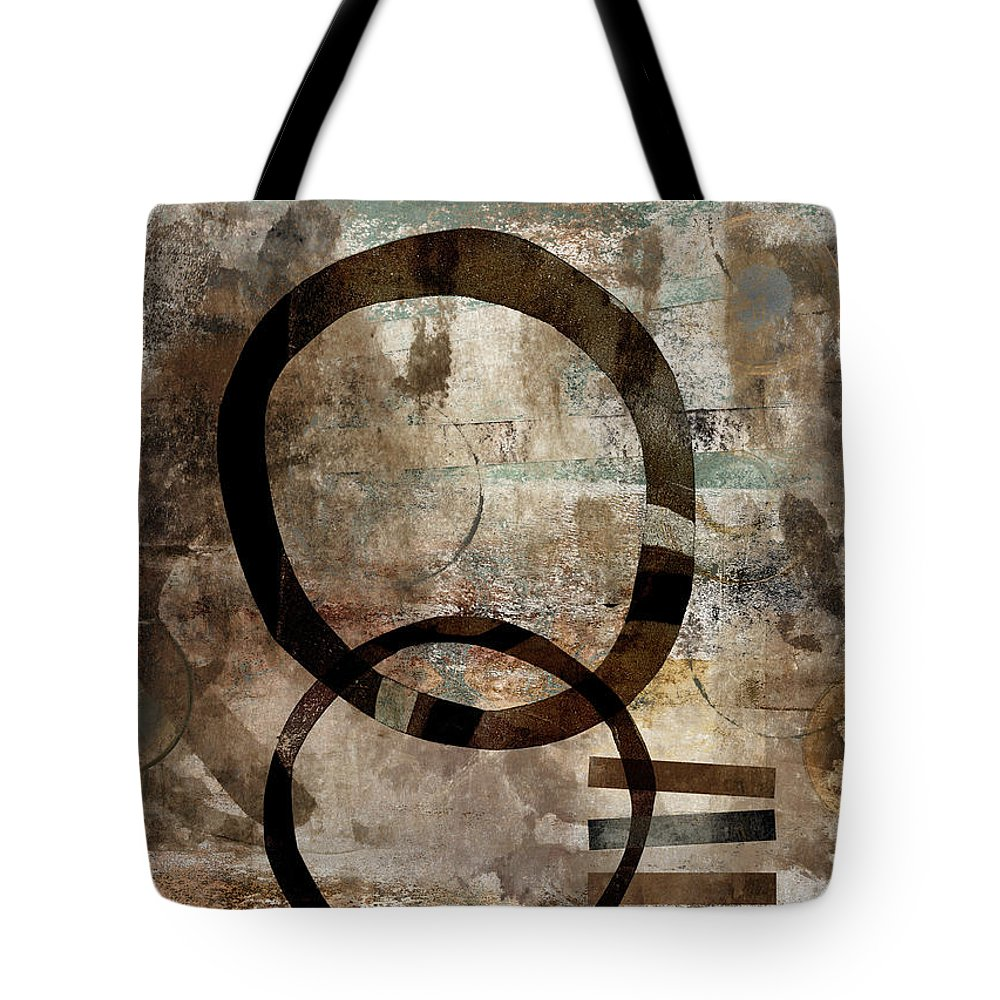 Abstract Tote Bag featuring the photograph Left Of Eight by Carol Leigh
