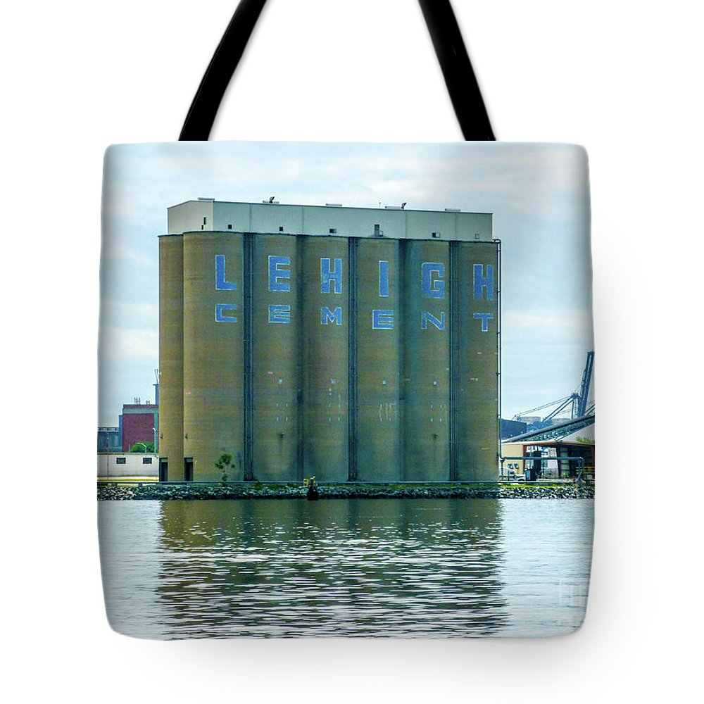 Lehigh Cement Baltimore Harbor Tote Bag
