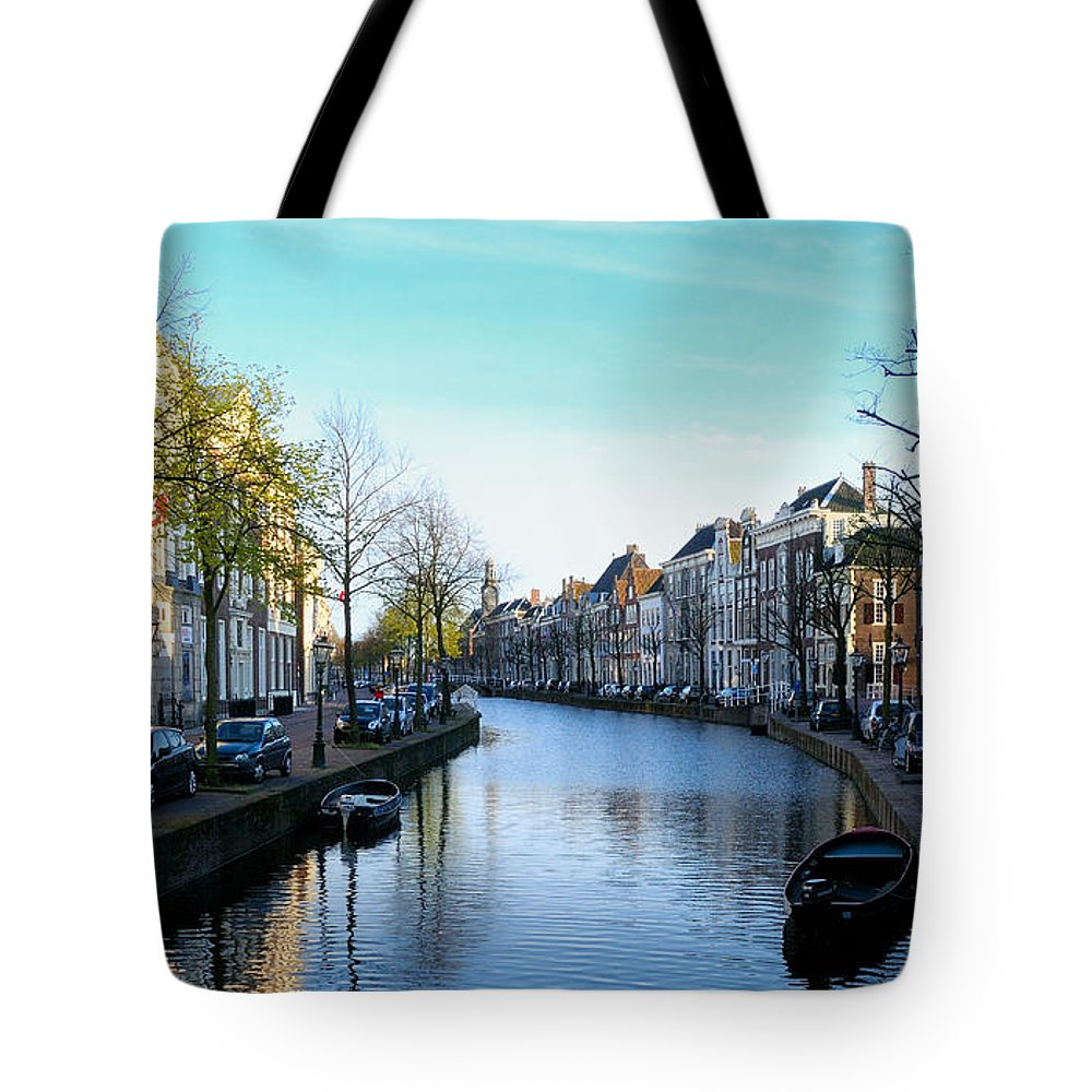 Leiden Tote Bag featuring the photograph Leiden, Holland by Soon Ming Tsang