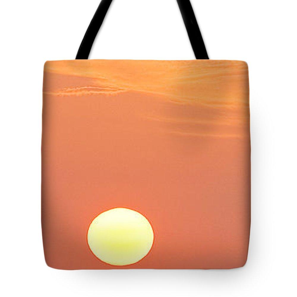 Lemon Yellow Sun Tote Bag featuring the photograph Lemon Yellow Sun Part 2 Of 3 by Sean Davey