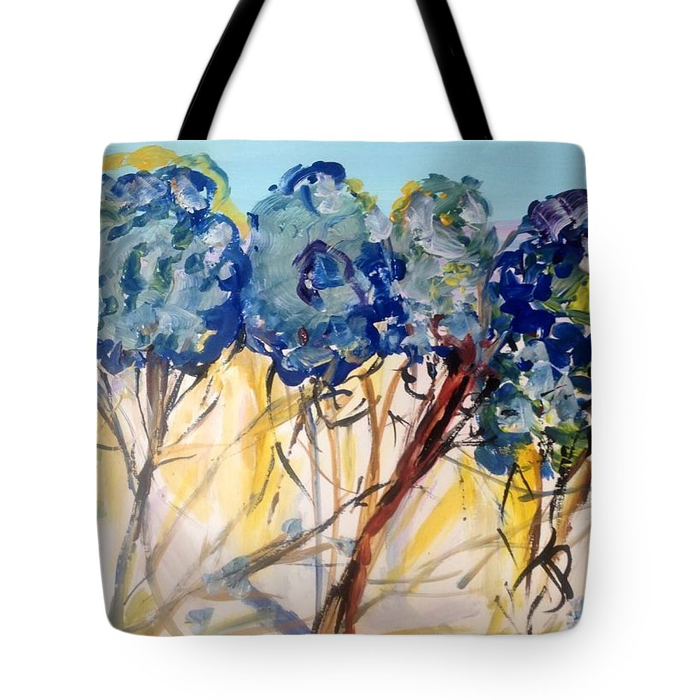 Nature Tote Bag featuring the painting Let Me Wander In Nature by Judith Desrosiers