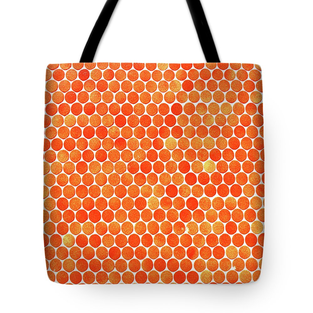 Polka Dot Tote Bag featuring the photograph Let's Polka Dot by Iryna Goodall