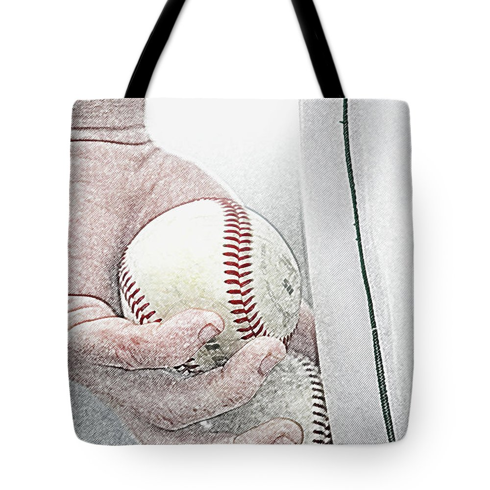 Action Tote Bag featuring the photograph Lets Try Two by Alan Look