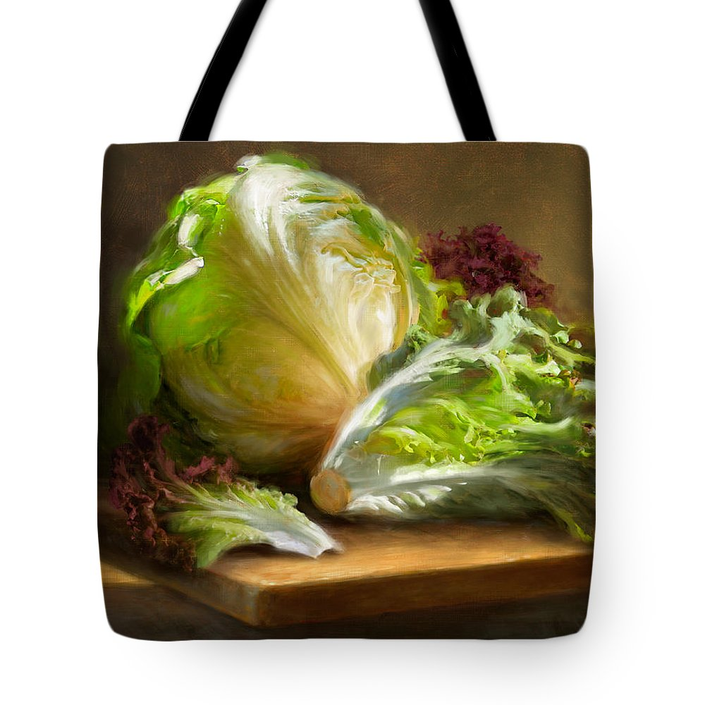 Lettuce Tote Bags