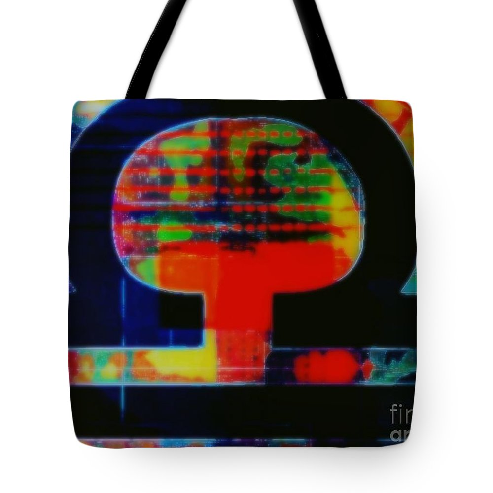Libra Tote Bag featuring the painting Libra by Wbk