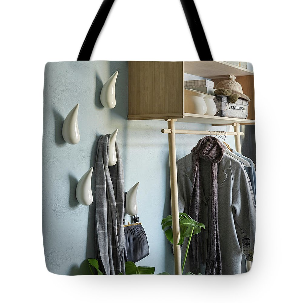 Licetto Barbedos Blue Tote Bag featuring the painting Licetto Barbedos Blue by Erwin Floor