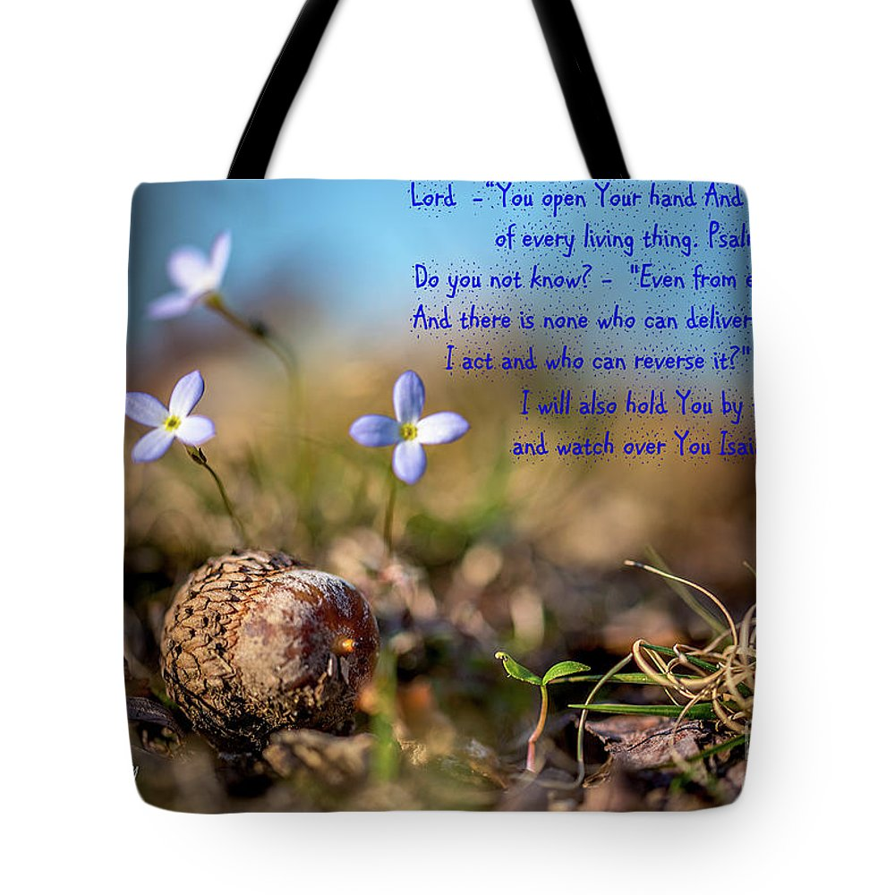 Bluet Tote Bag featuring the photograph Life Delicate And Strong by Darwin White