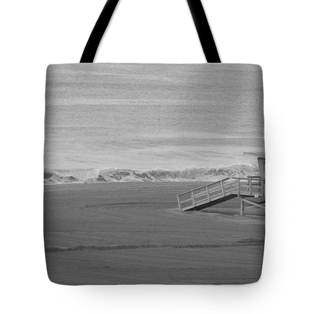 Beaches Tote Bag featuring the photograph Life Guard Stand by Shari Chavira