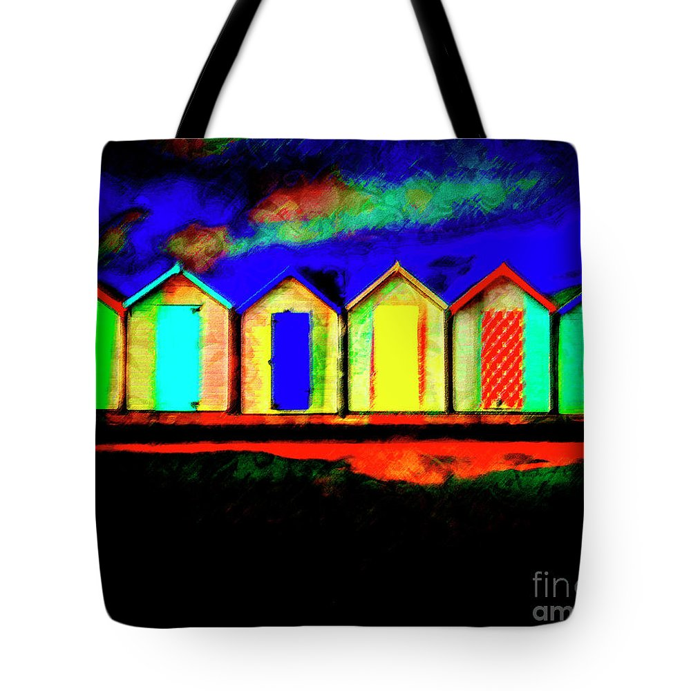 Nag004351 Tote Bag featuring the photograph Life Is A Beach by Edmund Nagele