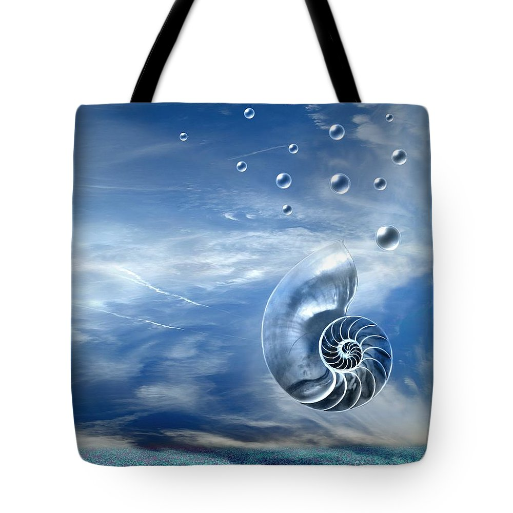 Surreal Tote Bag featuring the photograph Life by Jacky Gerritsen